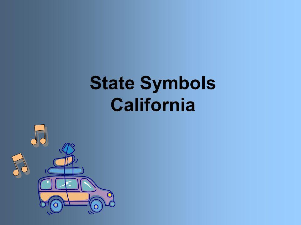 State Symbols California