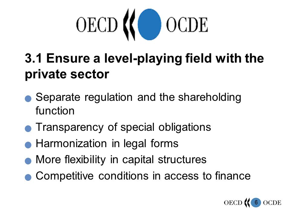 7 3.2 Reinforce ownership function within the state administration Centralization / coordination of the ownership function Clear and disclosed ownership policy No direct interference in day-to-day activities Let boards carry out their responsibilities Accountability secured Effective exercise of ownership rights