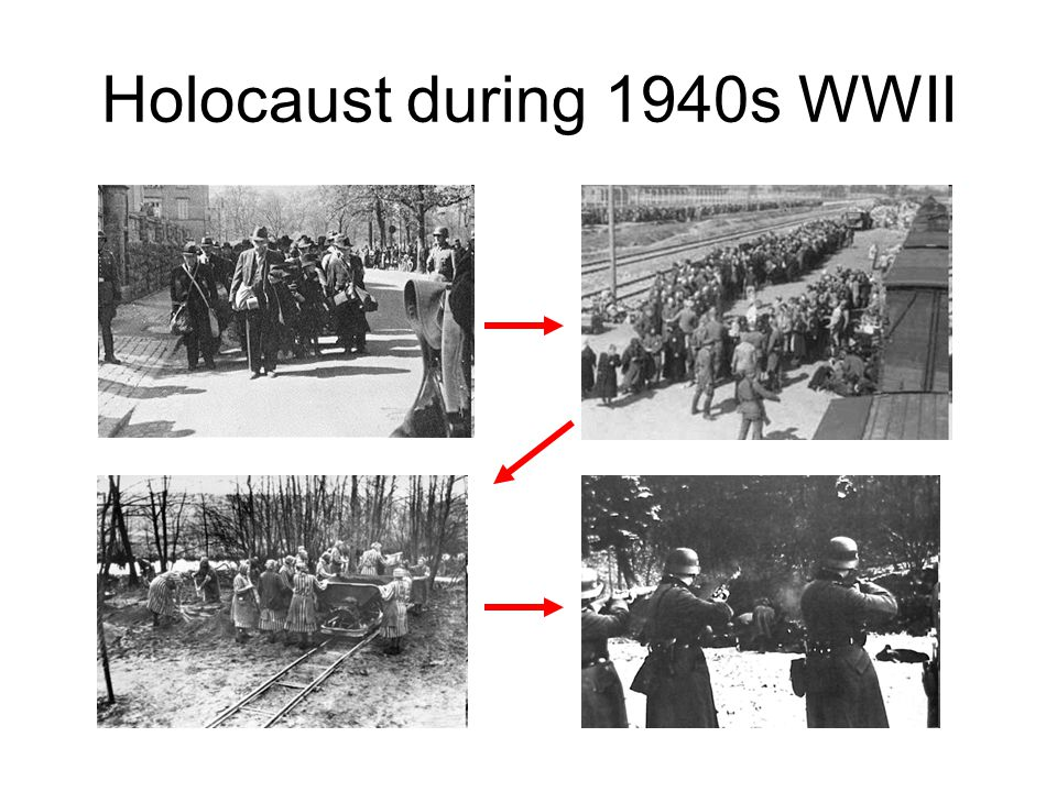 Holocaust during 1940s WWII