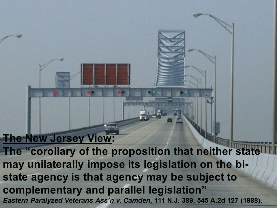 The New Jersey View (cont'd): How similar must the states' laws be.