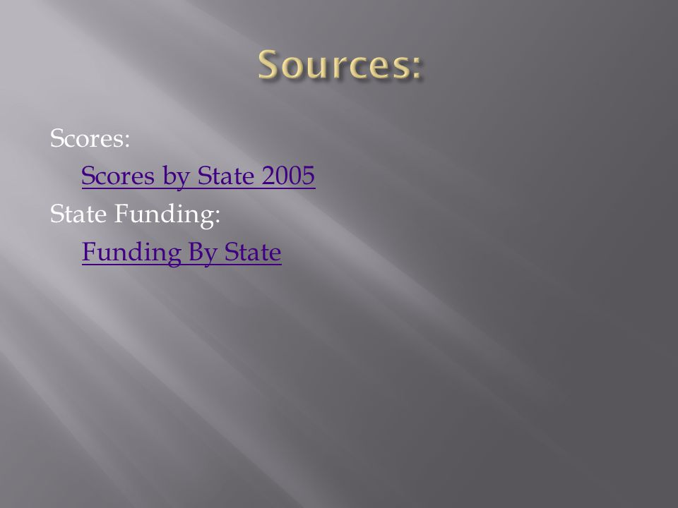 Why are the Southern States receiving higher scores, but spending less per student than the North Eastern States.