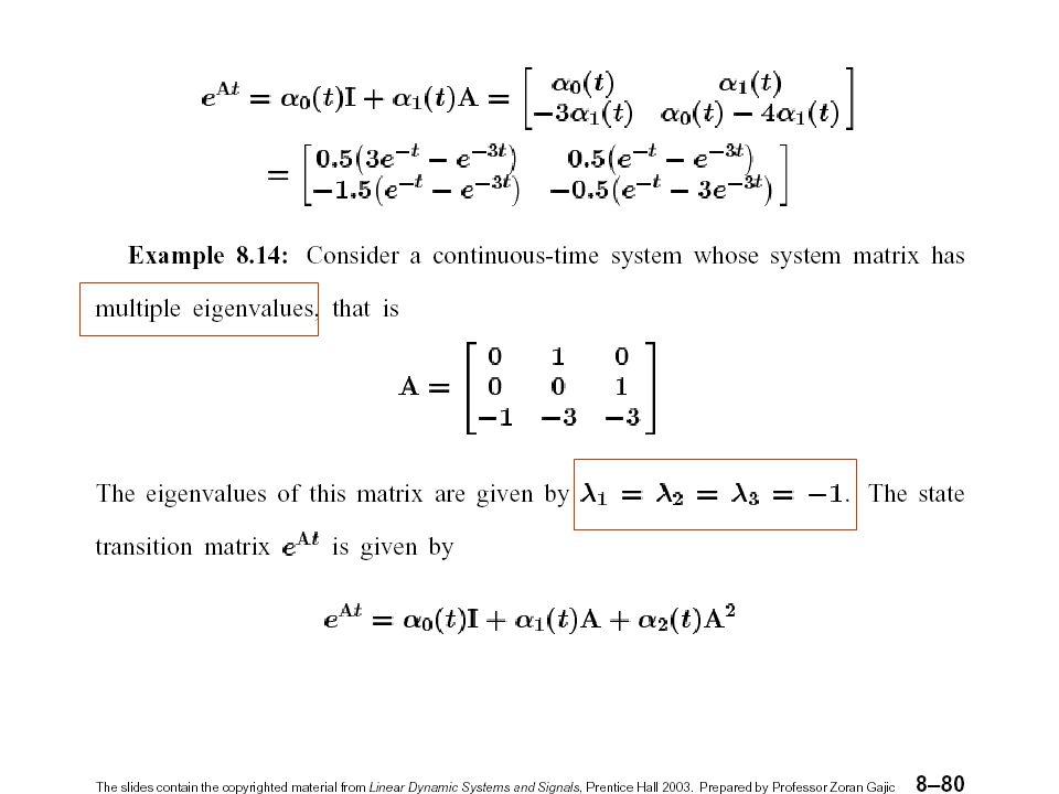 Modern Control Systems29