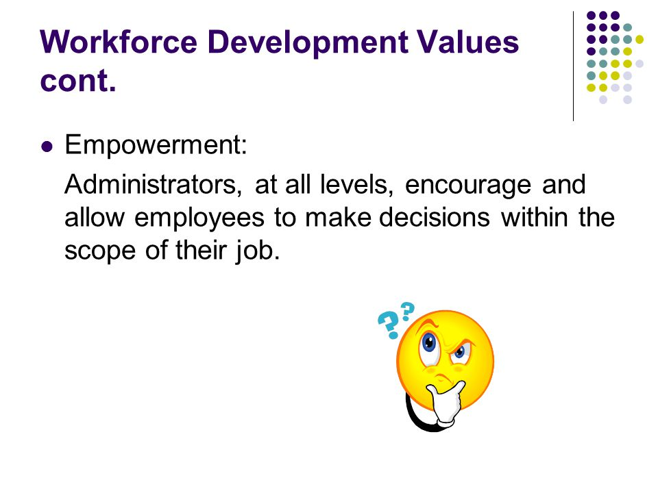 Strategic Plan Implementation Phases Phase II [4-6 years] Goal #1: Every agency will implement a viable workforce development program.
