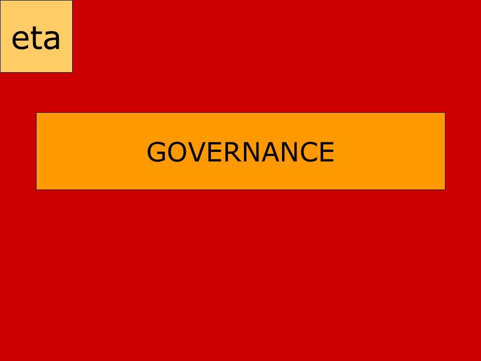 eta GOVERNANCE