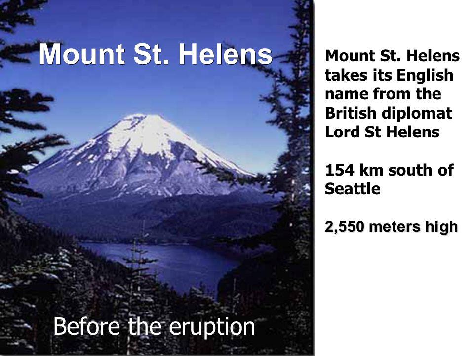 Mount St. Helens Mount St.