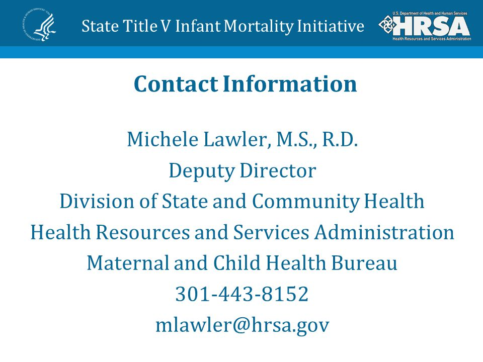 Contact Information Michele Lawler, M.S., R.D.