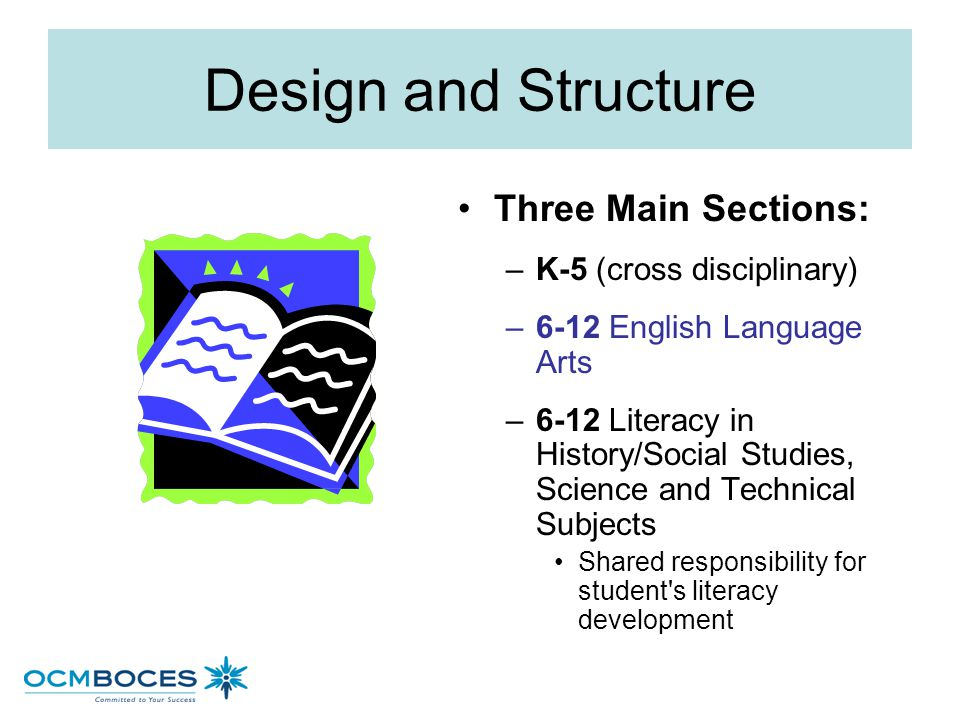 English Language Arts and Literary in History/Social Studies, Science and Technical Subjects