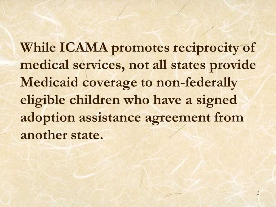 4 How can States provide Medicaid for state funded adoption assistance eligible children.