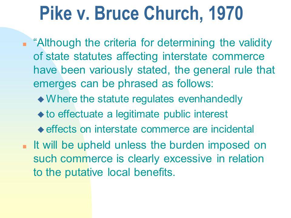 Pike v.