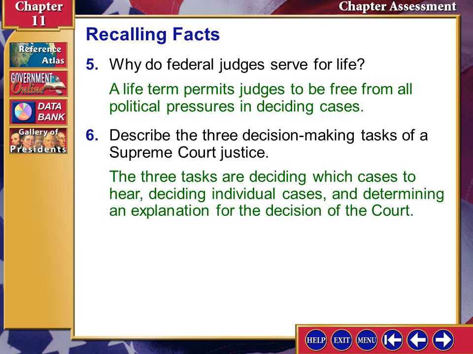 Chapter Assessment 4 3.What are the duties of a grand jury in a criminal case? Recalling Facts The grand jury hears charges against a person suspected