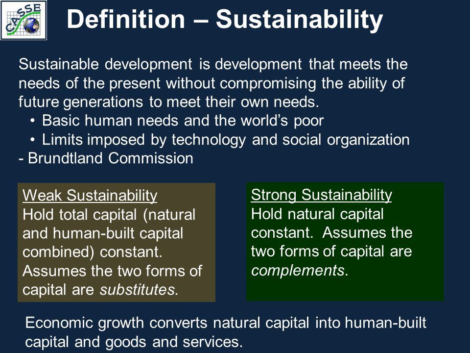 Definitions The Conflict between Economic Growth and the Environment Theoretical Framework Empirical Evidence Steady State Economy, the Alternative to Economic Growth Policies and Institutional Changes for the Transition Getting Started with the Paradigm Shift Outline