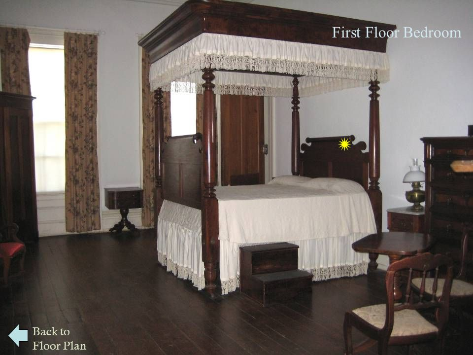  First Floor Bedroom Back to Floor Plan