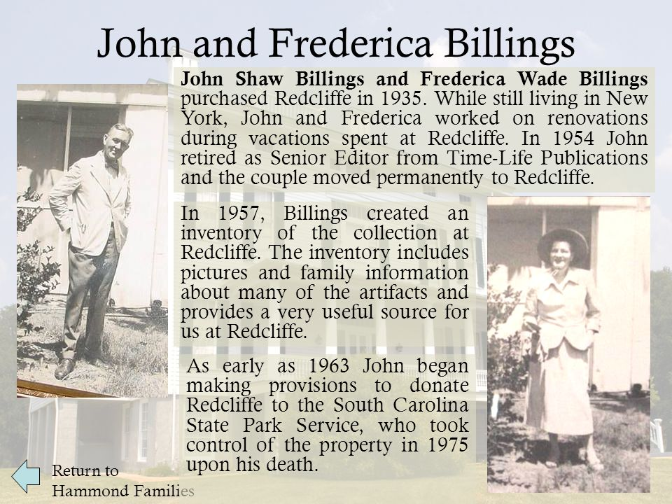 Redcliffe's collection does not include any original artifacts that belonged directly to the enslaved or paid workers who lived in Redcliffe's slave quarters.