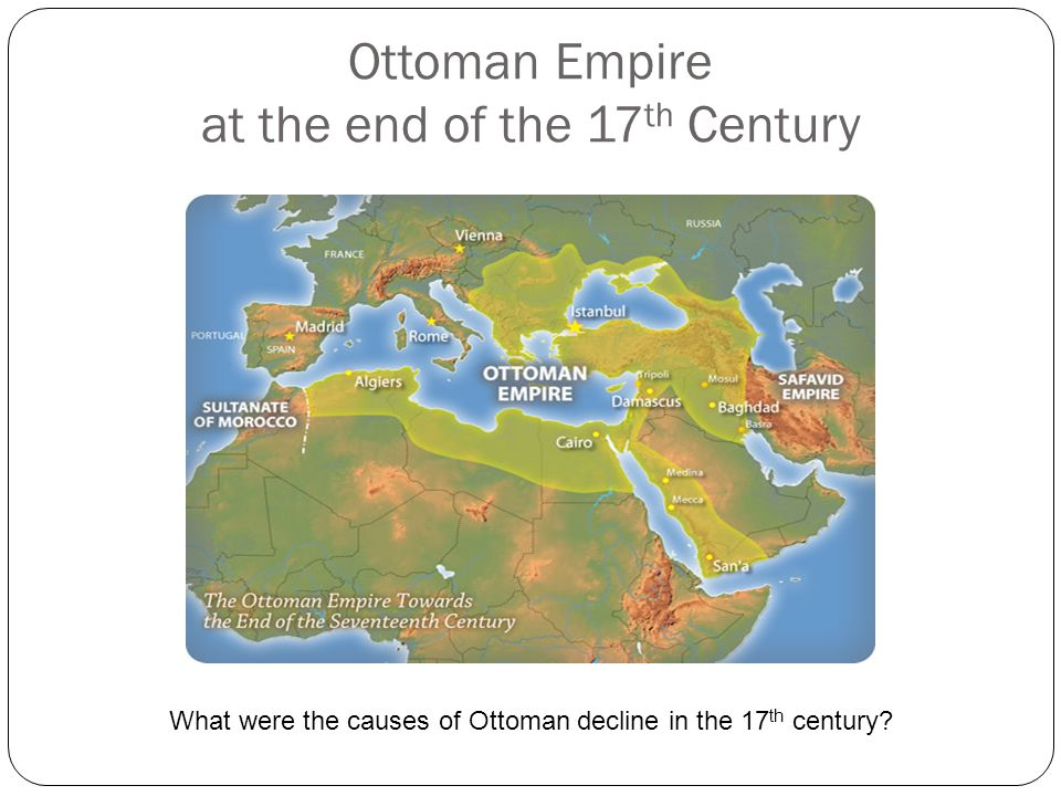 Ottoman The Ottoman Empire was like most Muslim empires of the time; it was a