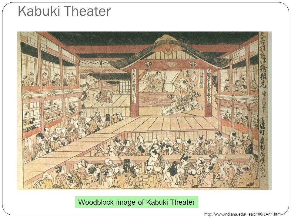 Cultural Achievements during the Tokugawa Era Haiku poetry (17 syllable poem) Kabuki theater (musical drama) Woodblock art Bunraku (plays using puppets- 3 puppeteer operation) http://www.ric.edu/faculty/gpamental/japan/bunraku.html