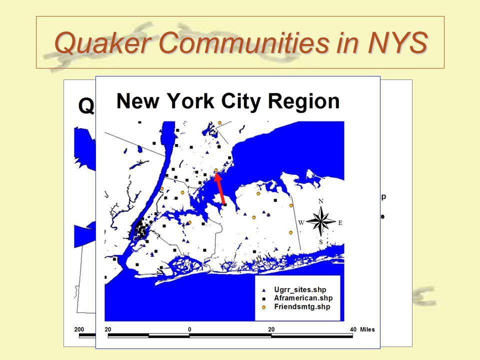 Quaker Communities in NYS