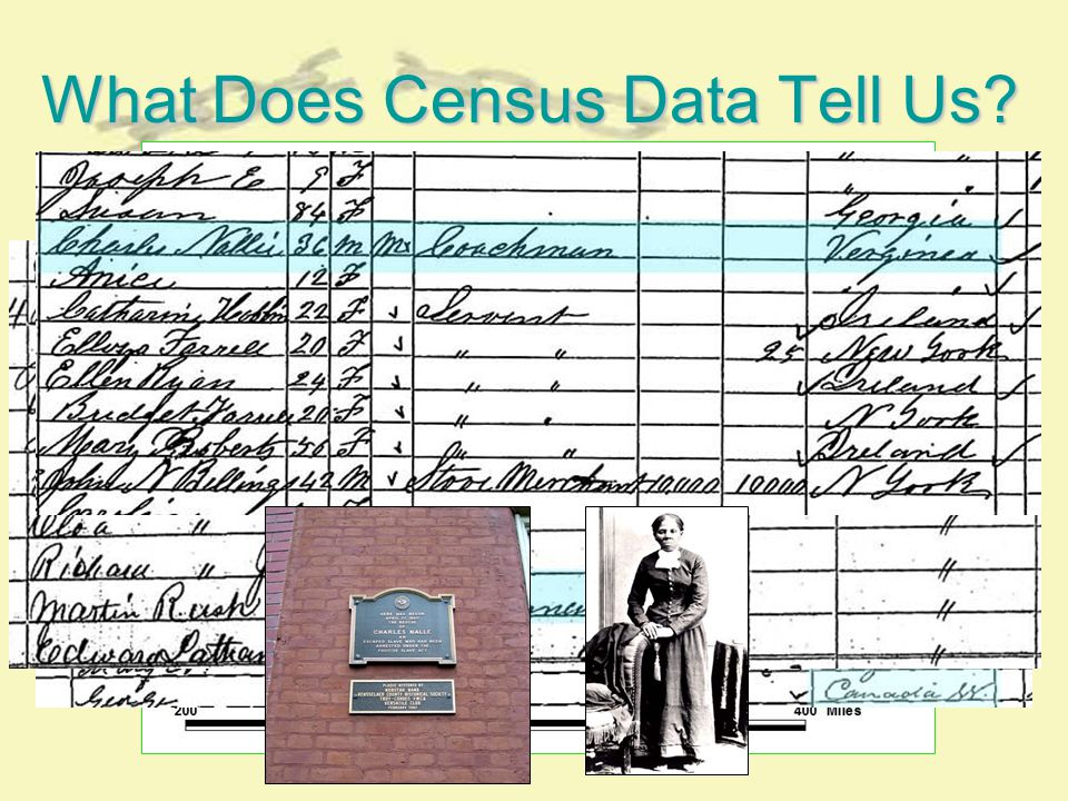 What Does Census Data Tell Us