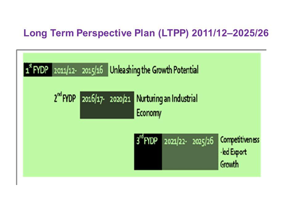 Long Term Perspective Plan (LTPP) 2011/12–2025/26