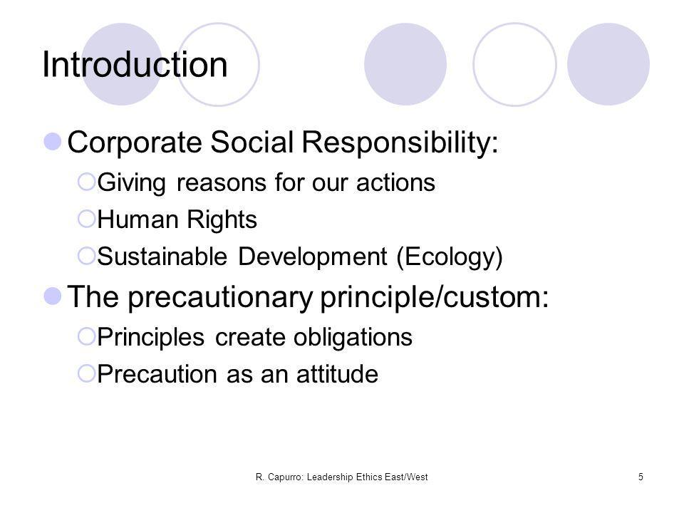 R.Capurro: Leadership Ethics East/West16 III. How do we speak.