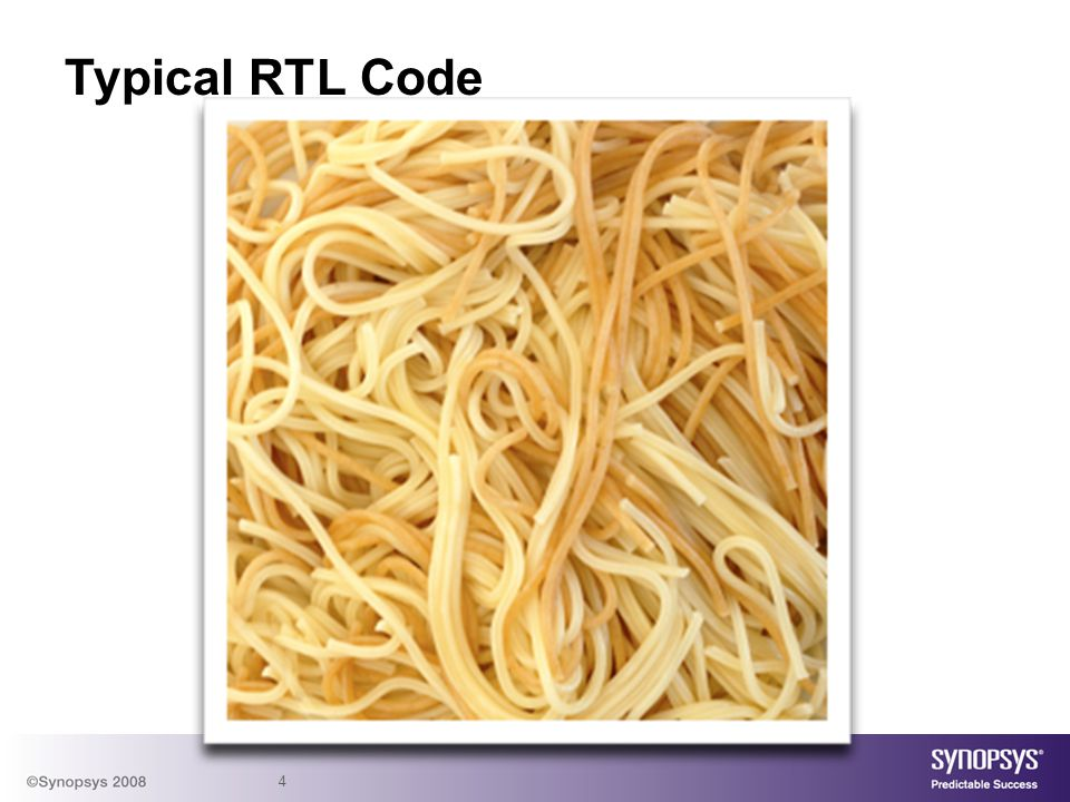 4 Typical RTL Code