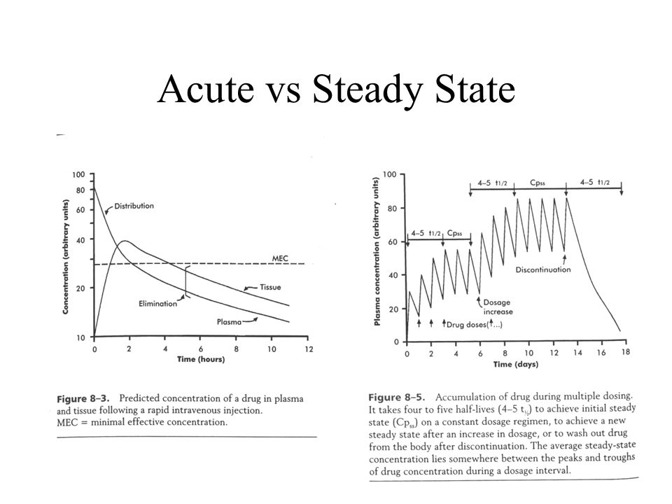 Acute vs Steady State
