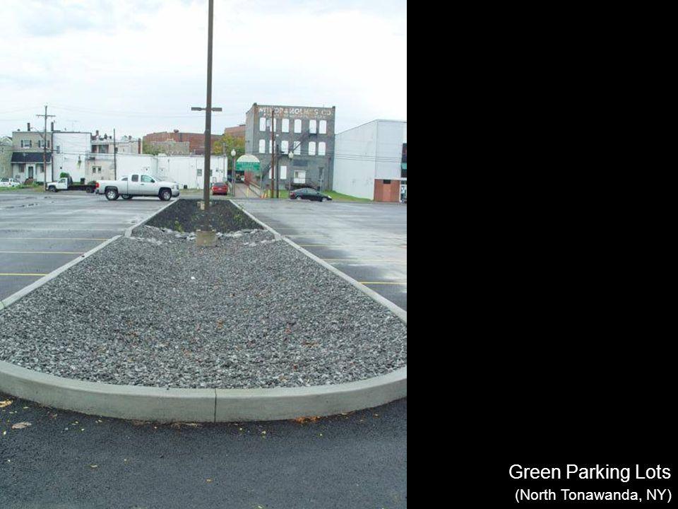 Green Parking Lots (North Tonawanda, NY)