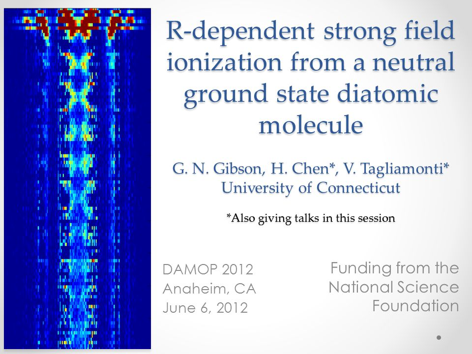 R-dependent strong field ionization from a neutral ground state diatomic molecule G.
