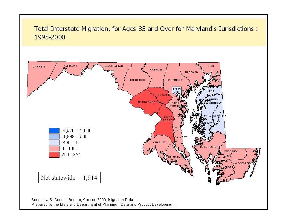 Net statewide = 1,914