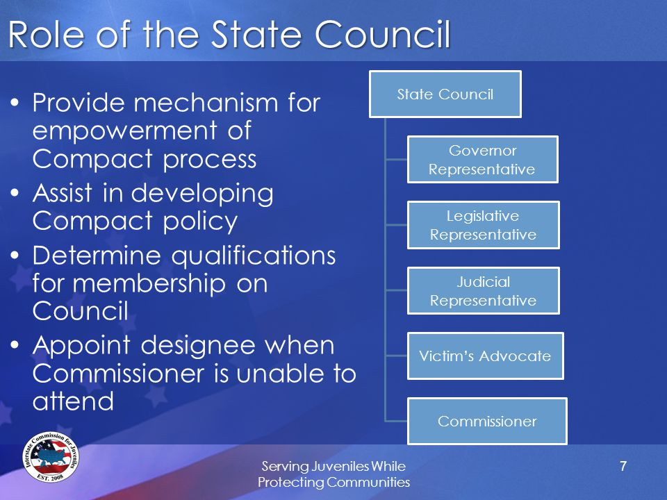 Why Is It Necessary to Have State Councils.