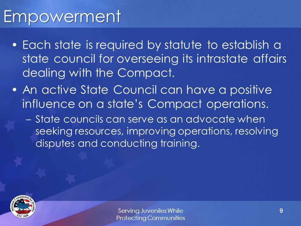 Implications of Congressional Consent Transforms an interstate Compact into federal law under the law of the union doctrine. –This transformation is not only for jurisdictional or interpretative purposes.