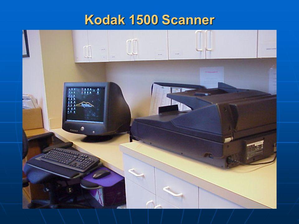 Kodak 1500 Scanner