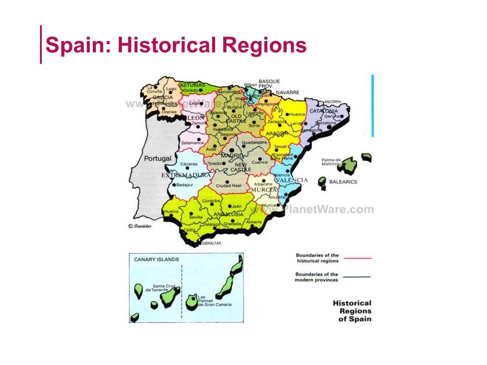 Spain: Historical Regions