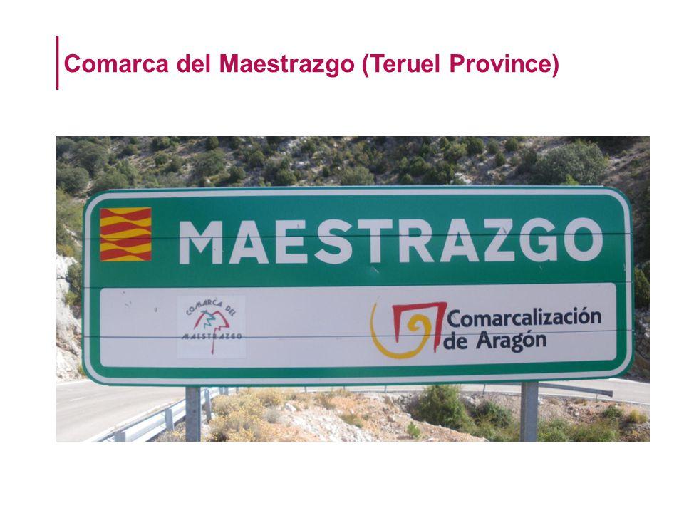 Comarca del Maestrazgo (Teruel Province)
