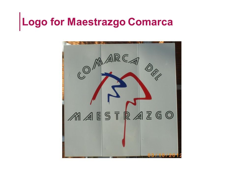 Logo for Maestrazgo Comarca