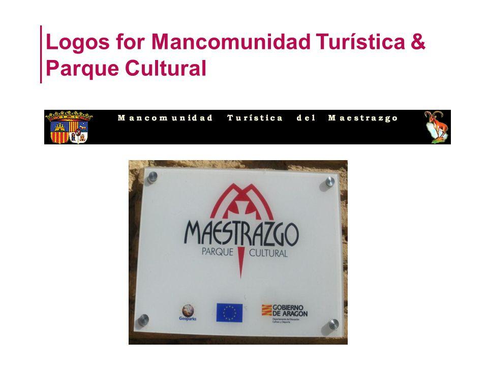 Logos for Mancomunidad Turística & Parque Cultural