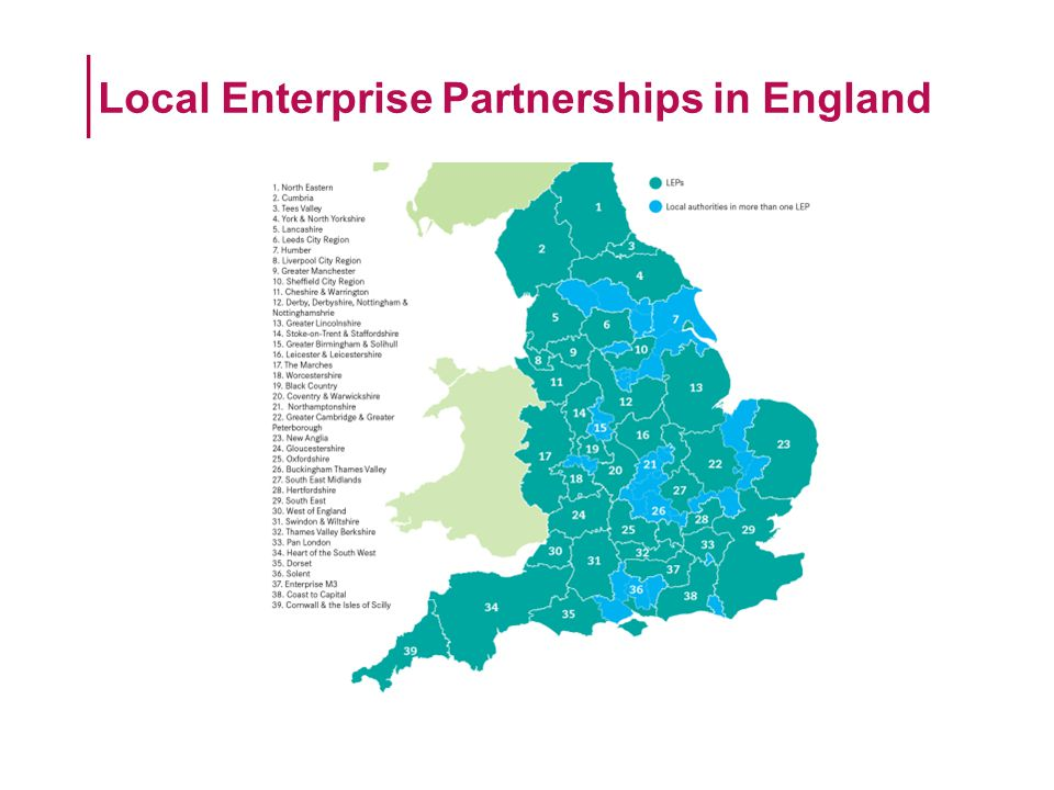 Local Enterprise Partnerships in England
