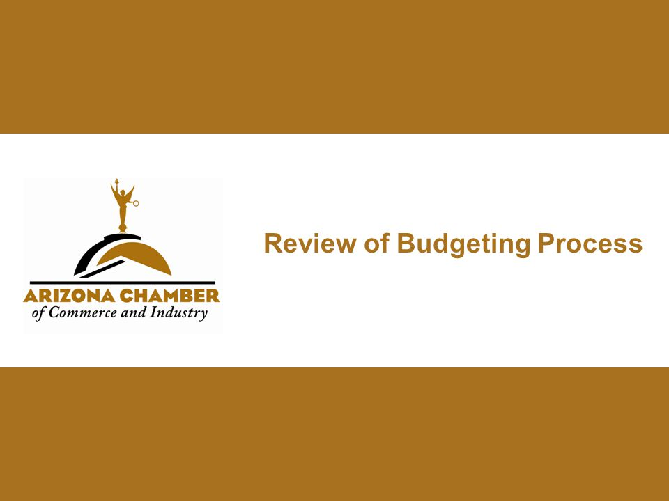 Review of Budgeting Process
