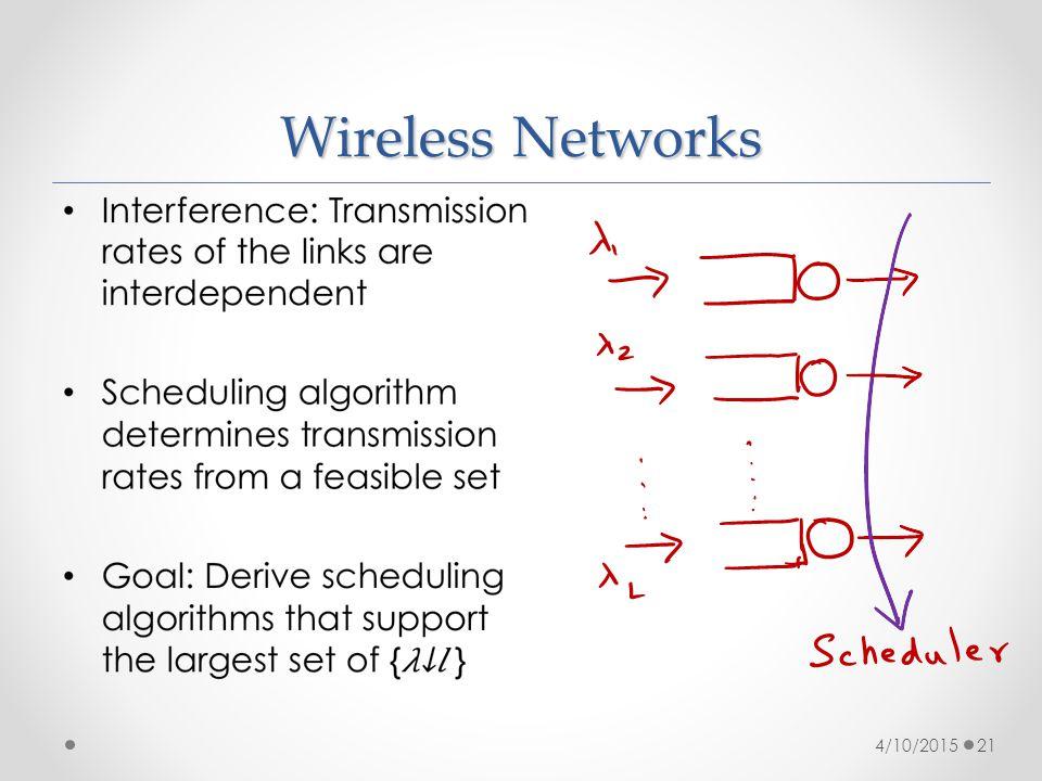 Wireless Networks 4/10/201521