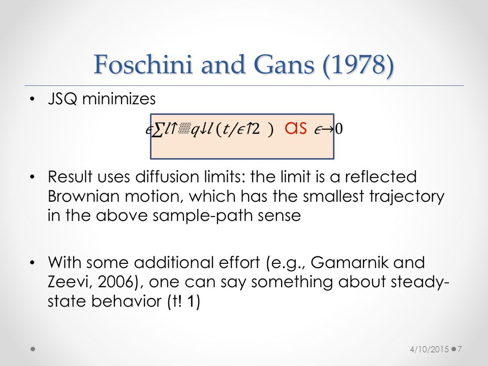 Foschini and Gans (1978) 4/10/20157