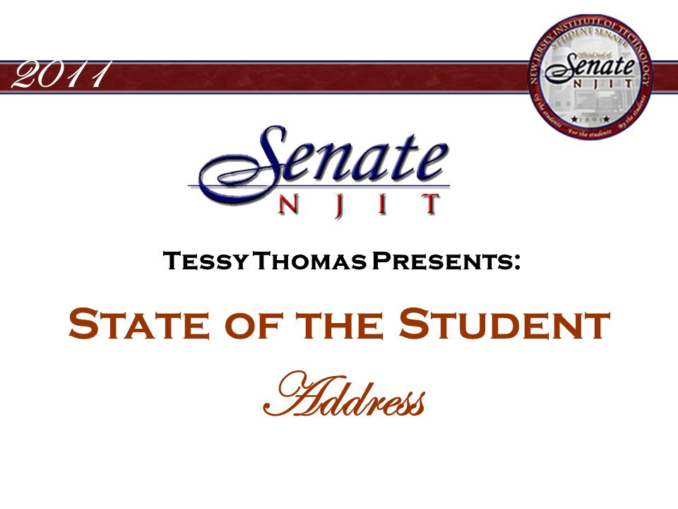 2011 State of the Student Address Conclusion