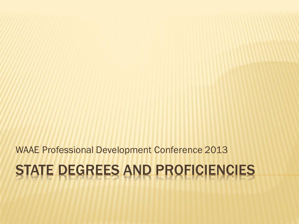 WAAE Professional Development Conference 2013