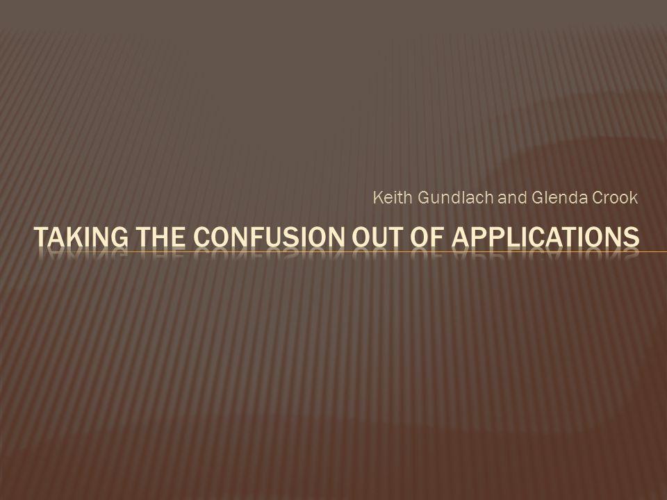 Keith Gundlach and Glenda Crook