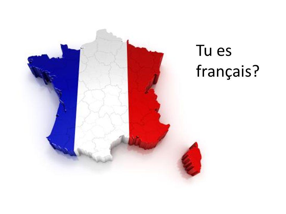 Tu es français
