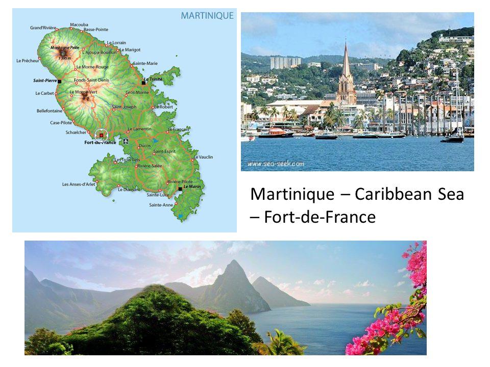 Martinique – Caribbean Sea – Fort-de-France