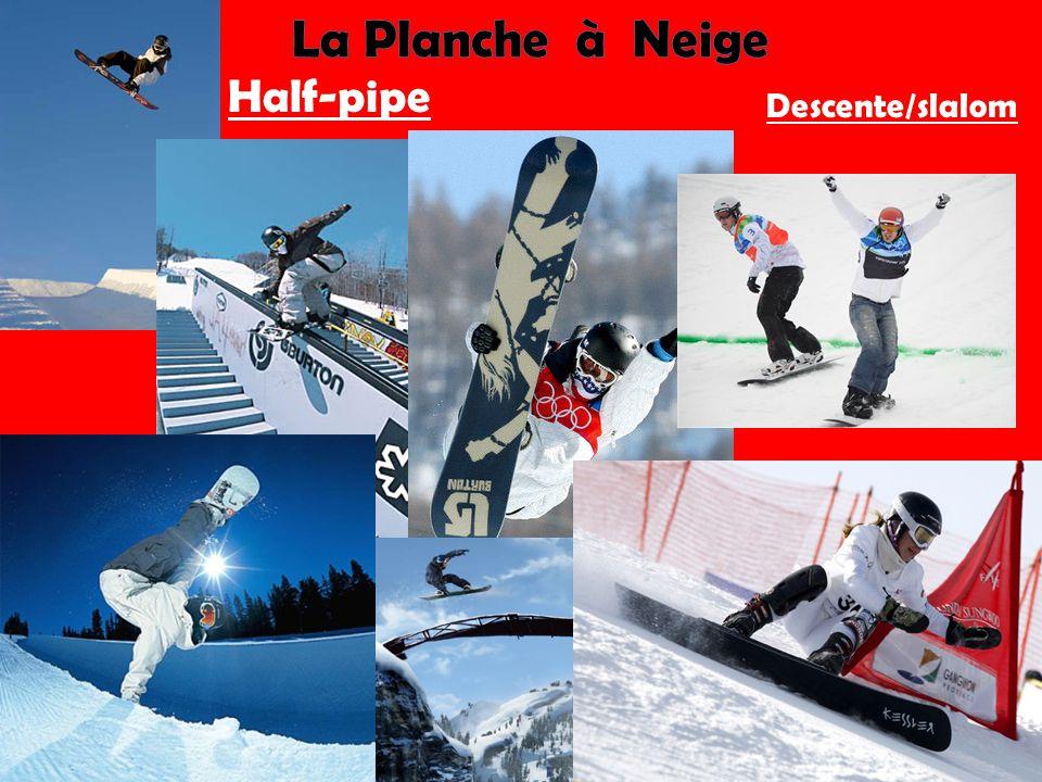 Half-pipe Descente/slalom