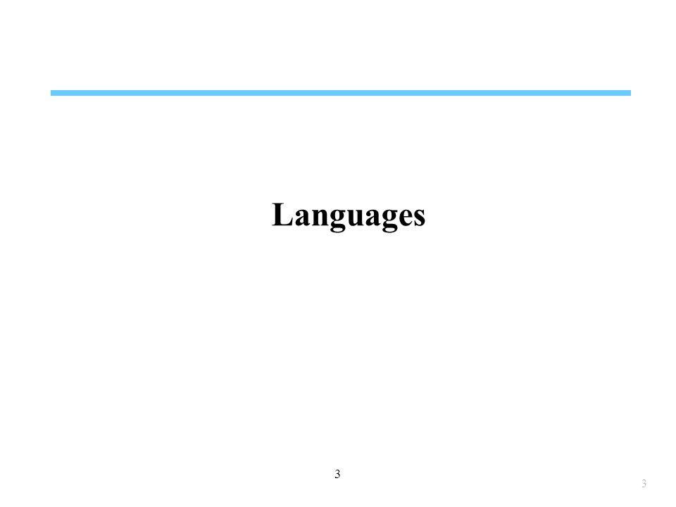 3 3 Languages
