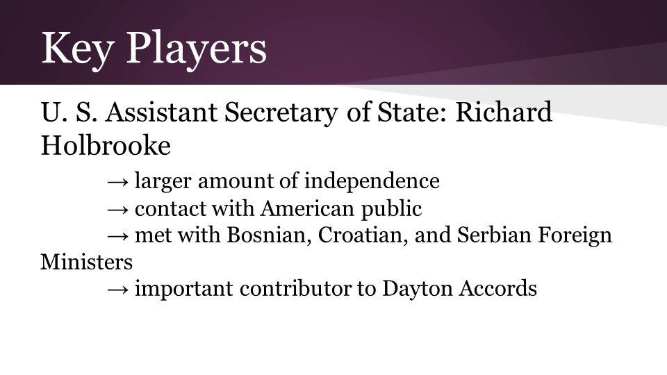 Key Players U.S.