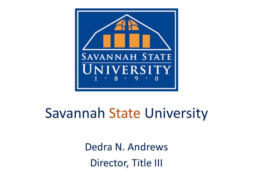 Savannah State University (HBCU) PR Award: P031B120530 1005-113 STEM 360 High School Engineering Explorers Visit to SSU-2012