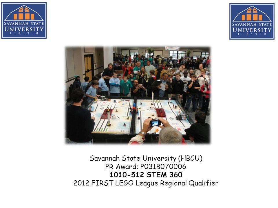 Savannah State University (HBCU-SAFRA) PR Award: P031B100012 1303-13-48 Mass Communication: Student Media Center & Learning Laboratories Media Center Editing Lab