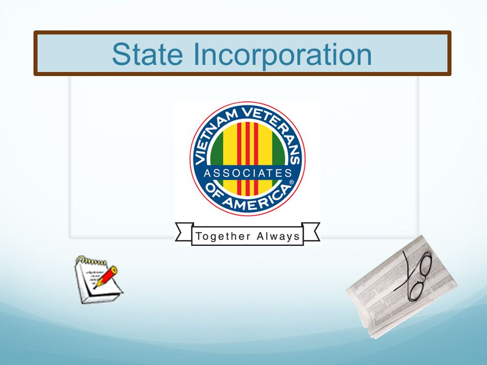State Incorporation